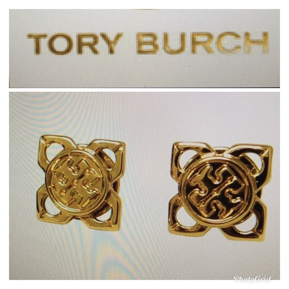 c0c65d40d 🤗TORY BURCH BABYLON STUD EARRINGS 🤗. M_5aee465d2ae12f52f391e595